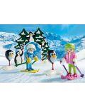 Комплект фигурки Playmobil - Ски урок - 8t