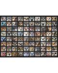 Пъзел D-Toys от 1000 части - Животински лица, Сови - 2t