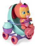 Комплект IMC Toys Cry Babies Magic Tears - Плачеща кукла Фенси с количка - 3t