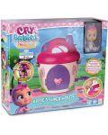 Комплект IMC Toys Cry Babies Magic Tears - Плачеща кукла Кейти с къщичка - 5t