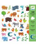 Стикери Djeco - Животни, 160 броя - 1t