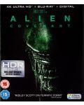 Alien: Covenant 4K (Blu Ray) - 1t