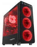 Кутия Genesis ATX - IRID 300 RED - 1t