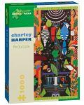 Пъзел Pomegranate от 1000 части - Птицекопия, Чарли Харпър - 1t