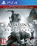 Assassin's Creed III Remastered + All Solo DLC & Assassin's Creed Liberation (PS4) - 1t