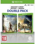 Assassin's Creed Odyssey + Assassin's Creed Origins (Xbox One) - 1t