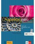 Aspekte neu B2 Lehr-und Arbeitsbuch Teil 2 mit CD - 1t