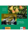 Aspekte Neu C1: 3 Audio-CDs / Немски език - ниво С1: 3 Audio-CDs към учебника - 1t