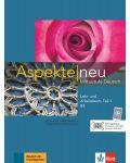 Aspekte neu B2 Lehr-und Arbeitsbuch Teil 1 mit CD - 1t