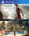 Assassin's Creed Odyssey + Assassin's Creed Origins (PS4) - 1t
