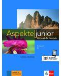 Aspekte junior B2 Kursbuch mit Audios zum Download - 1t