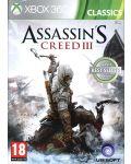Assassin's Creed III - Classics (Xbox 360) - 1t