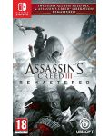 Assassin's Creed III Remastered + All Solo DLC & Assassin's Creed Liberation (Nintendo Switch) - 1t