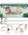 Азбуката и скритите букви (Книжка с изтриващи се страници и флумастер) - 8t