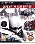 Batman: Arkham City - GOTY (PS3) - 1t