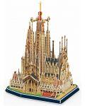 3D Пъзел Revell - Базиликата Саграда Фамилия - 1t
