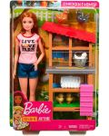 Игрален комплект Mattel Barbie - Фермерка - 9t