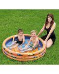 Надуваем басейн Bestway - Hot Wheels - 2t