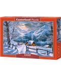 Пъзел Castorland от 1500 части - Снежно утро - 1t