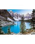 Пъзел Castorland от 1000 части - Езеро в Канада - 2t