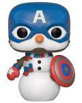 Фигура Funko Pop! Marvel: Holiday - Captain America - 1t