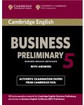 Cambridge English Business 5 Preliminary Student's Book with Answers - 1t