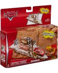 Игрален комплект Mattel Cars Story Sets - Highway Hideout, Deluxe - 3t