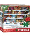 Пъзел Eurographics от 300 XL части - Коледни приказки, Пол Норман - 1t
