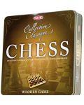 Класическа игра Tactic - Шах, в метална кутия - 1t