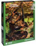 Пъзел Clementoni от 1000 части - Бебе шимпанзе - 1t