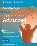 Complete Advanced Workbook without Answers with Audio CD - 1t