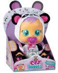 Детска играчка IMC Toys Crybabies – Плачещо със сълзи бебе, Панди - 3t