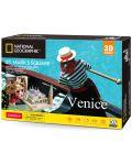 3D Пъзел Cubic Fun от 107 части - Venice St Mark's Square - 2t
