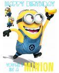 Поздравителна картичка Danilo - Despicable Me: Minion 1 In A Minion Birthday - 1t