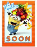 Поздравителна картичка Danilo - Despicable Me: Minion Get Well - 1t