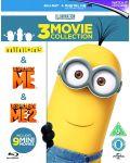 Despicable Me / Despicable Me 2 / Minions (Blu-Ray) - 1t
