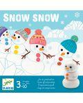 Детска игра Djeco - Snow Snow - 1t