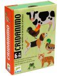 Детска игра с карти Djeco - Cridanimo - 1t