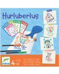 Детска арт игра Djeco - Hurluberlus - 1t
