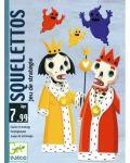 Детска игра с карти Djeco - Скелети - 1t