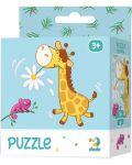 Детски пъзел Dodo от 16 части - Жираф - 1t