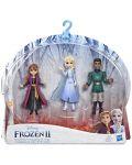Комплект фигурки Hasbro Frozen 2 - Моменти от историята, Анна, Елза и Лейтанат Матиас - 1t