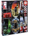Пъзел Educa от 1000 части - Колаж на Лондон - 1t