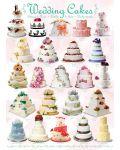 Пъзел Eurographics от 1000 части –  Сватбени торти - 2t