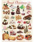 Пъзел Eurographics от 1000 части –  Лакомства за Коледа - 2t
