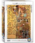 Пъзел Eurographics от 1000 части –  Изпълването, Густав Климт - 1t