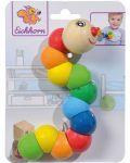 Дървена играчка Eichhorn - Гъсеница - 2t