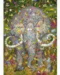 Пъзел Heye от 1000 части - Животът на слона, Марино Дегано - 2t
