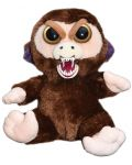 Плашеща плюшена играчка WMC Toys Feisty Pets - Маймуна - 3t