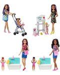 Игрален комплект Mattel Barbie - Детегледачка, асортимент - 1t